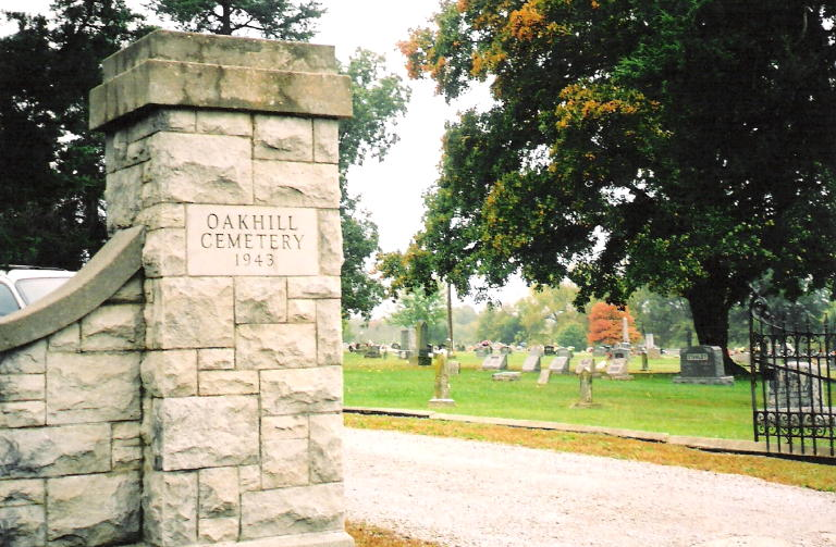 Oak Hill Cemetery in Butler - Home of Ripley's Smallest Tombstone